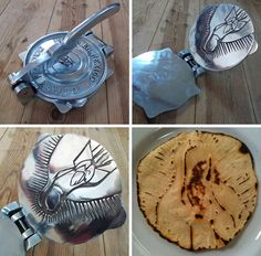 This Dope Tortilla Press is Engraved With The Virgen de Guadalupe - FirstWeFeast.com