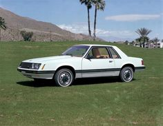 My 1st car...1979 Ford Mustang. White with red interior!!