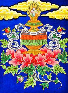 Browse through images in Jeelan Clark's Buddha collection. The art of buddha. Tibetan Symbols, Tibetan Buddhism, Buddhist Art, Tara Goddess, Saree Painting, Mughal Paintings, Thangka Painting, Sanskrit Tattoo, Wheel Of Life