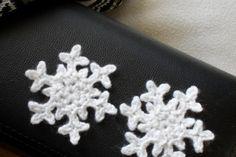 snöstjärna virka gratis virkbeskrivning mönster handarbete pyssel restgarn jul vinter
