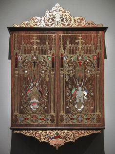 Wall Cabinet -- 1844 -- Munich -- Rijksmuseum, Amsterdam.