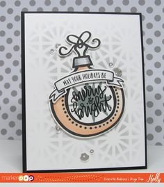 Neat & Tangled , Hexastar Stencil, May Your Holidays