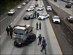 LAPD Police Chase and end results in massive crash