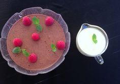 Sukkerfri & proteinrik sjokolademousse