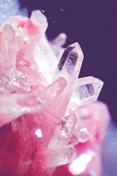 Cotton Candy Colored rock candy
