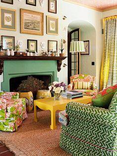 colors & patterns | Mad Cap Cottage