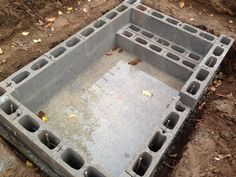 DIY Concrete Block Soaking Pool - In Progress, Advice Welcome! The Effective Pictures We Offer You About pool floats A quality picture can tell you many things. You can find the most beautiful picture Inground Pool Diy, Swimming Pool Construction, Small Swimming Pools, Small Backyard Pools, Backyard Pool Landscaping, Small Pools, Swimming Pools Backyard, Swimming Pool Designs, Indoor Pools