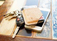 Cork & Denim Slide Wallet - hobbr