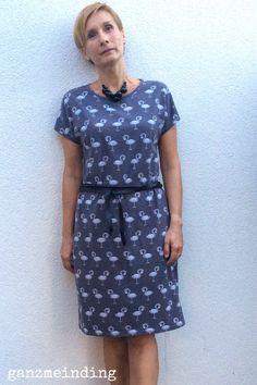 Kleid aus der La Maison Victor genäht von ganzmeinding