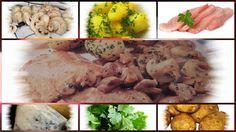 Vorratshaltung, Garten, Kochen, Rezepte, Gesundheit, Dekoideen, Hausmittel: Champignonschnitzel in Gorgonzolasauce und Petersi... Meat, Chicken, Food, Remedies, Health, Kochen, Beef, Meal, Essen