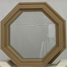 Octagon Window, Windows, Mirror, Wood, Painting, Furniture, Home Decor, Decoration Home, Woodwind Instrument