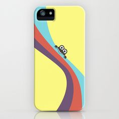 Funny Bug Bites Candy Colored Stripes iPhone & iPod Case $35.00 #iphone #iphonecases