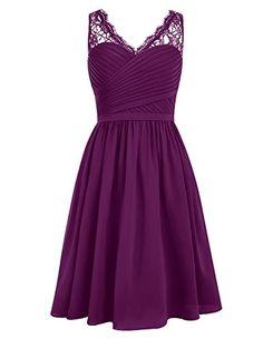 Dresstells® Short Homecoming Dress V-neck Ruched Chiffon Bridesmaid Prom Dress Grape Size 2 Dresstells http://www.amazon.com/dp/B0198EI6N6/ref=cm_sw_r_pi_dp_u-B6wb0VAGZ6W