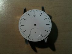 Nearly finished dial … Cooking Timer, Birth, Watch, How To Make, Handmade, Clock, Hand Made, Bracelet Watch, Being A Mom