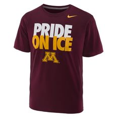 cheap for discount 719ef a05f3 Gopher Hockey Pride on Ice T-Shirt Fun Travel, Travel Ideas, Minnesota,