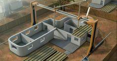 Contour Crafting: Una impresora 3D capaz de fabricar una casa de 230m² en 20 horas http://www.print3dworld.es/2013/11/contour-crafting-una-impresora-3d-capaz-de-fabricar-una-casa-de-230m-en-20-horas.html