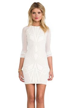 bless'ed are the meek Shapes Dress in Ivory from REVOLVEclothing