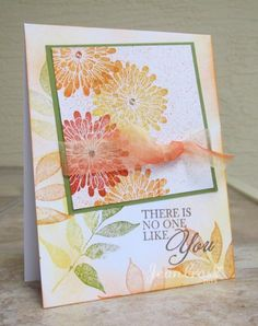Marigolds by naturecoastcrafter - Cards and Paper Crafts at Splitcoaststampers