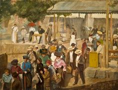Boschetto Fair   Caruana Dingli, Edward Maltese, Impressionist, Old Things, Photo And Video, Portrait, Artist, Painting, Instagram, Check