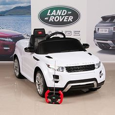Range rover evoque licensed ride on electric car 12v with parental remote
