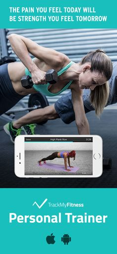Stop spending your valuable time searching for workouts… Gain strength faster using Personal Trainer's progress and calories burned tracking. Keep it fresh with new strength training workout videos updated weekly! #trackmyfitness