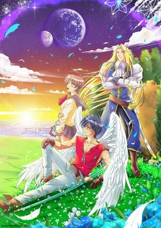 The vision of Escaflowne by FanasY