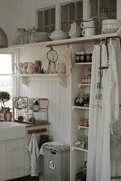 another shabby kitchen