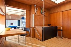"""<p>This minimalist Mid-Century style Norwegian cabin was the home of Grete Prytz Kittelsen: the """"Queen of Scandinavian Design"""" as she often was called. Built in 70s' by well known &#"""