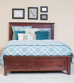 The Verona Bed Is Expertly Built With Time Honored Craftsmanship Using  Solid Acacia Wood With A Warm Sienna Finish. With Sinuous And Rich Wood  Grain Framed ...
