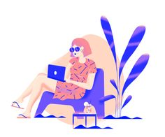 Funemployed designed by Frederique Matti. Connect with them on Dribbble; the global community for designers and creative professionals. People Illustration, Flat Illustration, Graphic Design Illustration, Digital Illustration, Web Design, Illustrations And Posters, Vector Art, Vector Graphics, Illustrators