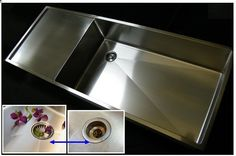 Tony Drainboard Kitchen Sink with UltraClean Offset Drain Left