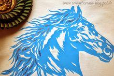 ZeroArtsCreativ: Plotter Freebie für kleine und große Pferdefreunde