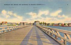Barnegat Bay bridge into Seaside...that bridge looks a little scary to drive over!