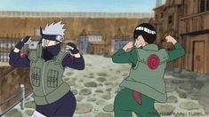 gif, Naruto, funny, guy sensei, anime,