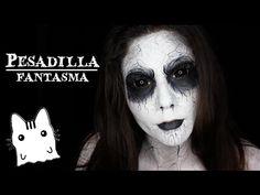 Maquillaje de Fantasma/Ghost makeup - YouTube