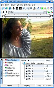KPlayer is a KDE multimedia player.   Ubuntuland & The Dream Valley Multimedia, Software