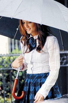 Imagen de gossip girl, blair waldorf, and leighton meester Gossip Girls, Estilo Gossip Girl, Gossip Girl Outfits, Gossip Girl Fashion, Gossip Girl Uniform, Blair Waldorf Outfits, Blair Waldorf Stil, Estilo Blair Waldorf, Blair Waldorf Fashion