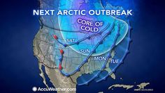 Harsh Cold to End 2013 From Midwest to Northeast