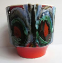 "This is now mine! It's amazing! Poole pottery Delphis 5"" planter"