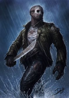 Jason Voorhees by Disse86.deviantart.com on @DeviantArt
