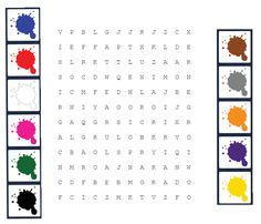 Sopa de los colores (hecho con pictogramas de Pictotraductor)
