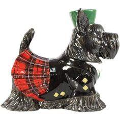 New Westland Giftware Kookie Jars Scottish Terrier Cookie Jar Dog Cookies, Biscuit Cookies, Kitsch, Westland Giftware, Scottish Tartans, Scottish Kilts, Vintage Cookies, Cookie Jars, Cookie Containers