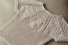 I have had this sweater for Audrey on my mental list since last summer. I'm so happy I finally got to it and have finished it! For the pas...