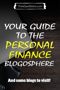 Are you trying to get your finances in order? This is a great resource with a list of some amazing personal finance bloggers. He also talks about how everyone is different so everyone's financial plan needs to be different. So don't seek out one-size-fits-all advice and instead READ as much as you can and figure out what's right for you. Amazing financial advice.