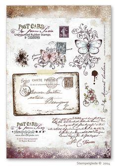 © Stempelglede® Post Card from Paris