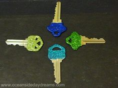 I have to do this so I know what key goes to what house