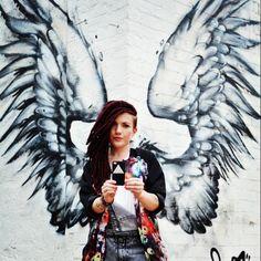 Pyramid #iphonesia #iphonecase#fashion #uk #ukfashion #rad #wings #streetart #london #shoreditch #graffitti #instafashion #mystyle