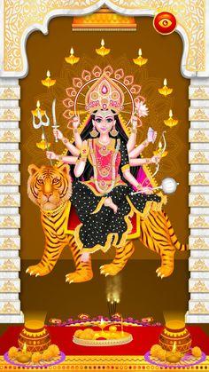 Durga Maa, Shiva Shakti, Durga Goddess, Divine Mother, Lord Vishnu, God Pictures, Indian Gods, Sanskrit, Hinduism