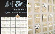 Harrison Studio / Jose Villa/Lisa Vorce | 25 Unique Escort Cards & Seating Plan Ideas | SouthBound Bride #wedding