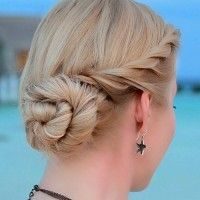 Frozen Elsa coronation hairstyle